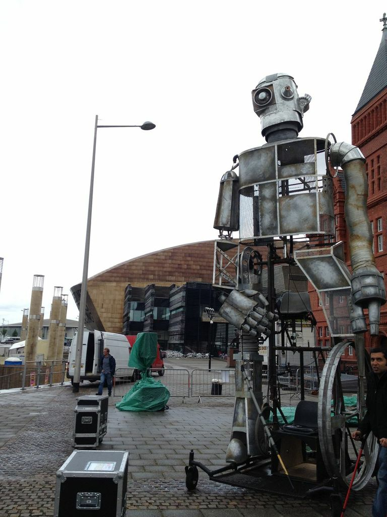 Graeae - The Iron Man