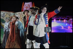 Special Olympics Opening Ceremony 2009 - With Movers and Speakeasy Theatre Company